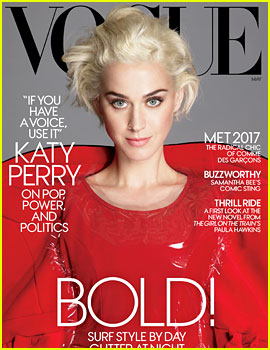 Katy Perry Covers 'Vogue,' Talks Election, Fashion & More