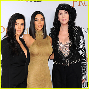Kim & Kourtney Kardashian Join Cher at 'The Promise' Premiere in L.A.
