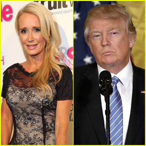 Kim Richards Admits She Once Dated Donald Trump