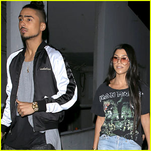 Kourtney Kardashian Goes Out for Dinner with Quincy Brown