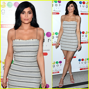 Kylie Jenner Attends the Sugar Factory Opening in Vegas!