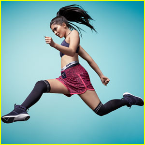 Kylie Jenner Springs Into Action in PUMA's Latest Campaign