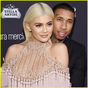 Kylie Jenner & Tyga Reportedly Ran Into Each Other at Coachella