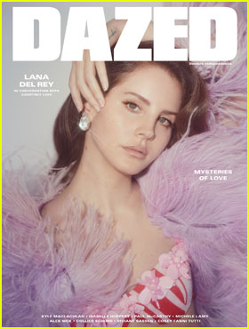 Lana Del Rey Looks Lusty On New Cover of 'Dazed' Mag