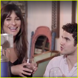 Lea Michele & Darren Criss Team Up For Some Epic Duets - Watch Now!