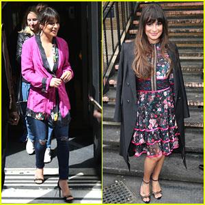Lea Michele Saw Former Glee Co-Star Amber Riley 'Kill It' In 'Dreamgirls'!