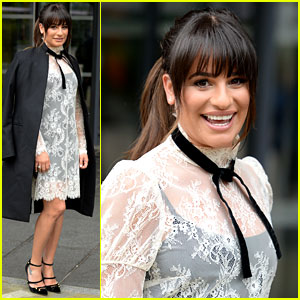 Lea Michele Loves to Watch Old 'Glee' Episodes