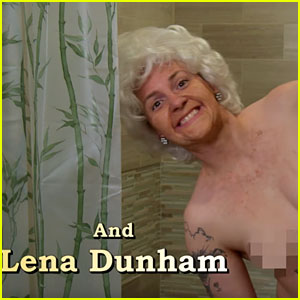 Lena Dunham & 'Girls' Cast Spoof 'Golden Girls' for 'Kimmel'