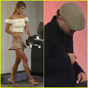 Leonardo DiCaprio Keeps it Low Key for Dinner with Nina Agdal