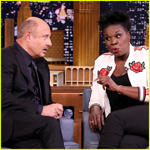 Dr. Phil & Leslie Jones Do a Lie Detector Test, Jimmy Fallon Ends Up Leaving Set!