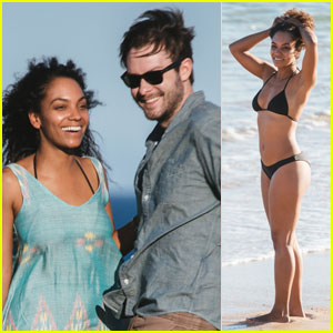 Sleepy Hollow's Lyndie Greenwood Enjoys Bikini Vacation With Boyfriend Benjamin Jamieson