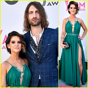 Maren Morris & Boyfriend Ryan Hurd Hit ACMs 2017 Red Carpet
