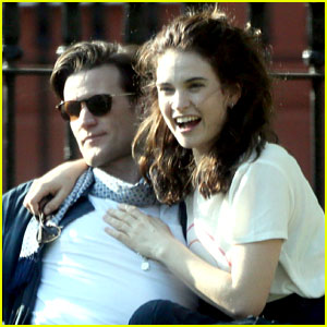 Matt Smith & Lily James Pack on the PDA at London Park