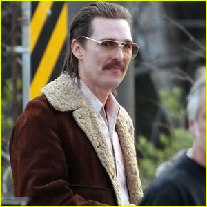 Matthew McConaughey Gets Into Character On Set of 'White Boy Rick' in Cleveland