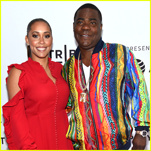 Tracy Morgan's Wife Megan Wollover Supports Him at Tribeca Premiere of 'The Clapper'