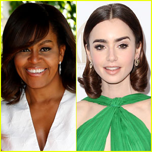 Lily Collins Received Empowering Thank You Note from Michelle Obama - Read It Here!