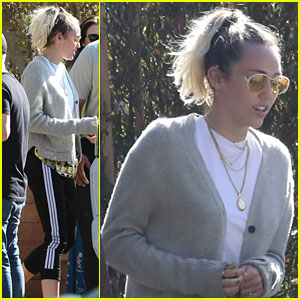 Miley Cyrus Grabs Lunch With Sis Noah and Mom Tish After Noah Announces New Single