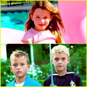 Milla Jovovich & Patrick Dempsey's Children Team Up For Italian 'Vogue' (Video)
