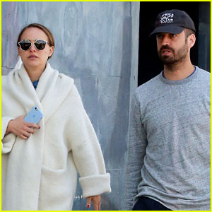 Natalie Portman & Benjamin Millepied Grab Lunch Sans Daughter Amalia
