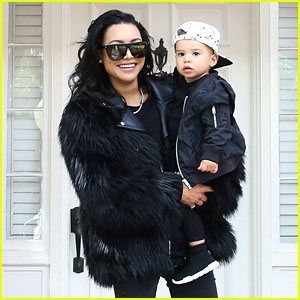 Naya Rivera Goes Easter Egg Hunting with Son Josey!