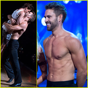 Nick Viall Went Shirtless on 'DWTS' & Looked So Hot!