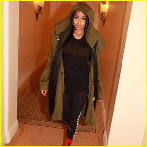 Nicki Minaj Blurs Out See-Through Shirt For the Creeps