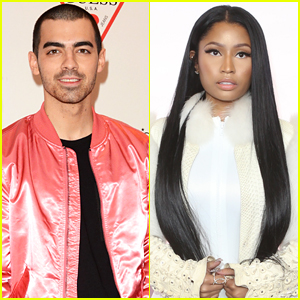 Nicki Minaj Jokes She 'Roughed Up' Joe Jonas on Set of 'Kissing Strangers' Video
