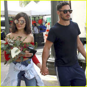 Olivia Culpo & Boyfriend Danny Amendola Couple Up at Farmer's Market