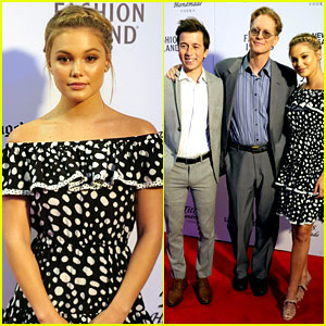 Olivia Holt Premieres 'Class Rank' in Newport with Skyler Gisondo