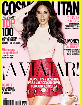 Olivia Munn Covers 'Cosmopolitan Mexico' May 2017!