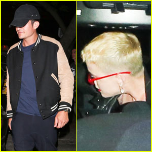 Exes Orlando Bloom & Katy Perry Attend Same Birthday Party