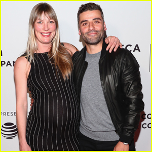 Oscar Isaac Supports Pregnant Girlfriend Elvira Lind at 'Bobbi Jene' Premiere