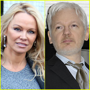 Pamela Anderson Discusses Relationship with Julian Assange