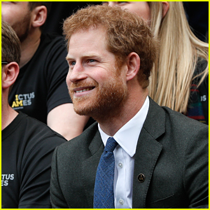 Prince Harry Checks Out the Army-Navy Rugby Match in London!