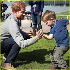 Prince Harry Meets With Athletes at Invictus Games Team Trials
