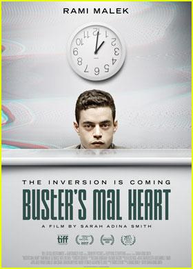 Rami Malek's New Movie 'Buster's Mal Heart' Gets Trailer!