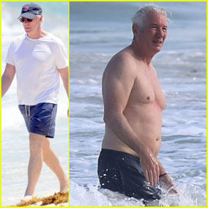 Richard Gere Shows Off Amazing Shirtless Physique at 67
