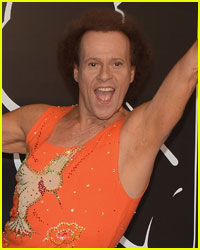 Richard Simmons' Friend Says He's Fine, But Has a Knee Injury