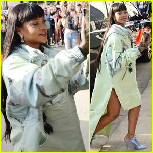 Rihanna Opens Her Fenty X Puma Pop-Up Shop in Hollywood!