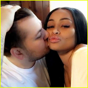 Rob Kardashian Kisses Blac Chyna in New Snapchat Video