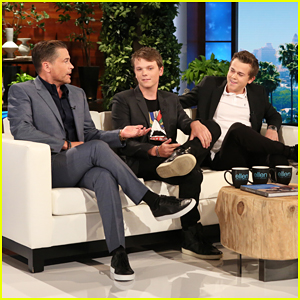 Rob Lowe's Sons Tell 'Ellen' That Their Dad Is A 'Man Child'!