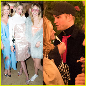 Robert Pattinson & Jaime King Support the New Pop & Suki Line