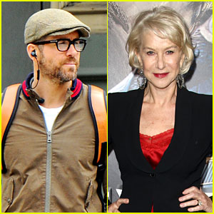 Ryan Reynolds Reacts to Helen Mirren's Praise After Making Time's '100 Most Influential' List