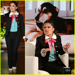 Salma Hayek's Dogs Crashed a Wedding Once & You Need to Hear Her Tell This Story!