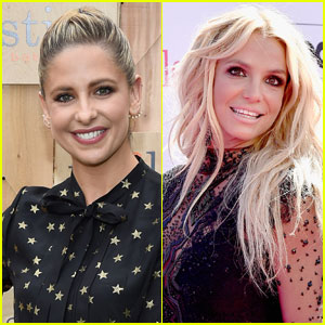 Sarah Michelle Gellar Dishes On Hanging With Britney Spears