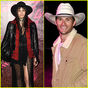 Scott Eastwood & Sofia Boutella Rock Cowboy Hats at Coachella