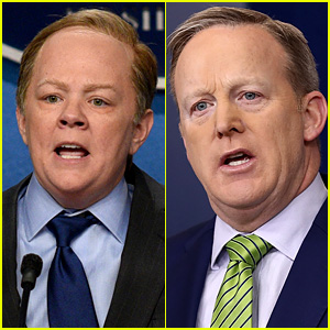 Sean Spicer Says He Sleeps During Melissa McCarthy's 'SNL' Impressions (Video)