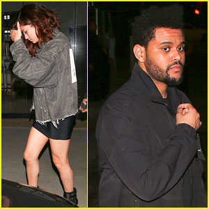 Selena Gomez & The Weeknd Kick Off Their Weekend With Romantic Dinner Date