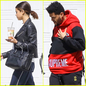 Selena Gomez & The Weeknd Spend The Afternoon Together