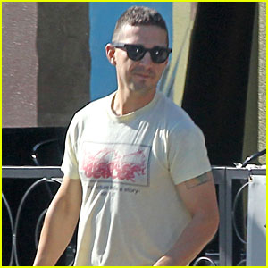 Shia LaBeouf Gears Up for 'Peanut Butter Falcon' Filming ...